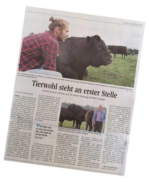 Segeberger Zeitung: Tierwohl steht an erster Stelle