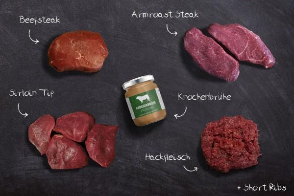 Galloway-Paket | Steakgenuss Spezial | Tiefkühlfrisch