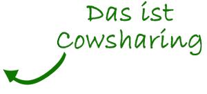 Pfeil-cowsharing